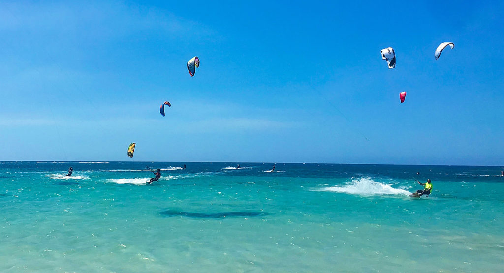 Kite Surfing Punta Poppy