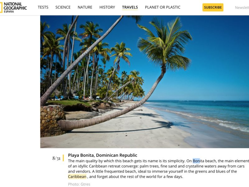 National Geographic España…